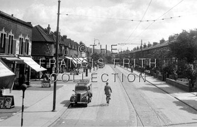 Thornton Heath, Brigstock Road c1955, Surrey