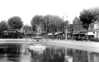 Thornton Heath Pond c1955, Surrey