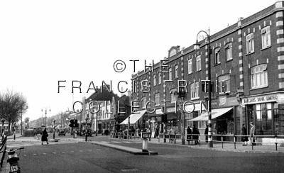 Thornton Heath, London Road c1960, Surrey
