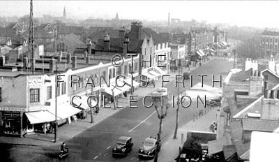 Thornton Heath, London Road c1955, Surrey